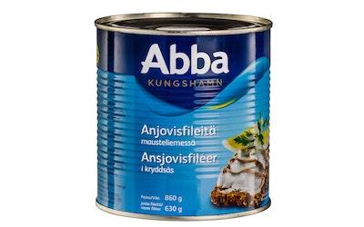 Abba anjovisfilee 860g/630g