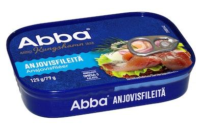 Abba anjovisfileitä 125/79g