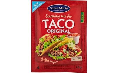 Santa Maria Taco Spice Mix -mausteseos 28g