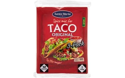 SantaMaria Taco Spice Mix 3-pack 84g
