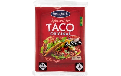 SantaMaria Taco Spice Mix 3-pack 84g