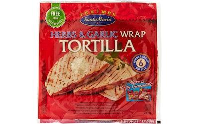 Santa Maria wrap tortilla 371g yrtt&vsip