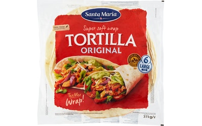 Santa Maria wrap tortilla original 371 g