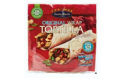 Santa Maria wrap tortilla original 742 g