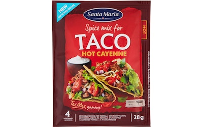 SM tex mex taco spice mix hot cayenne28g