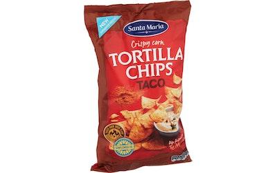 SM tex mex tortilla chips taco 185g
