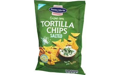SM tex mex tortilla chips organic 125g