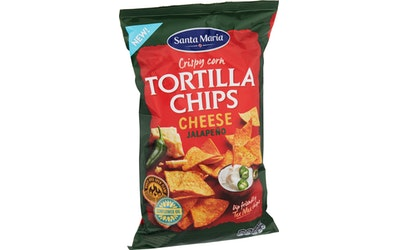 SM texmex tort chips cheese jalapeno185g