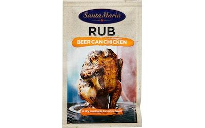 Santa Maria Rub Beer Can chicken pussi kuiva marinadi 30g