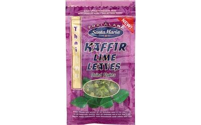 Santa Maria Thai Kaffir Lime Leaves kuivatut kaffirlimen lehdet 6g