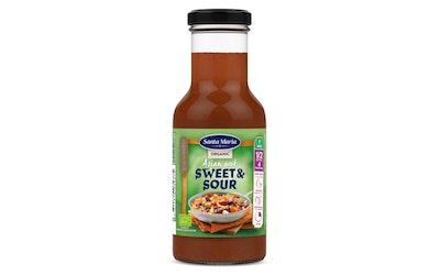 SantaMaria Asian Wok Sweet&Sour maustekastike 250ml Luomu