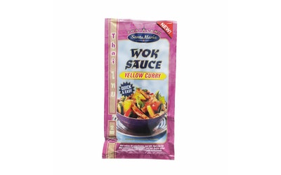 Santa Maria Thai Wok Sauce Yellow Curry 120g