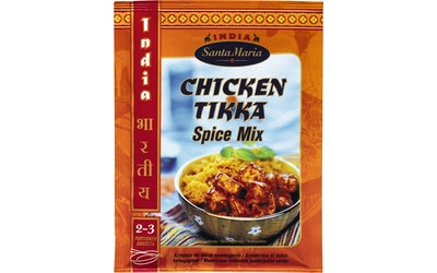 Santa Maria India  Chicken Tikka Spice Mix mausteseos 35g pussi