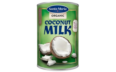 Santa Maria Thai Organic Coconut Milk kookosmaito luomu 400ml