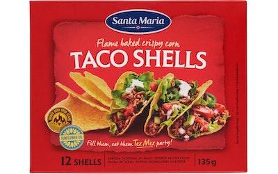 Santa Maria Tex Mex Taco Shells 135g
