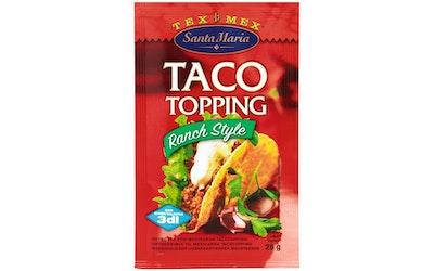 Santa Maria Tex Mex Taco Topping Ranch Style  mausteseos 25g pussi mausteseos