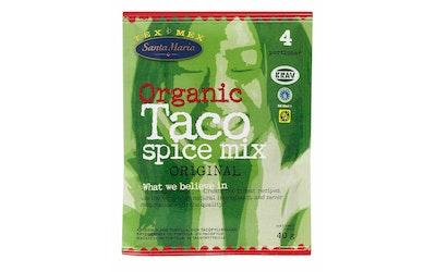 Santa Maria Tex Mex Taco Spice Mix Organic maustesekoitus luomu 40g
