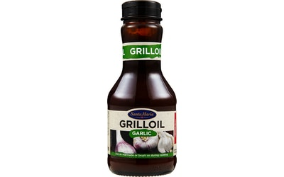 Santa Maria BBQ Grill Oil Garlic valkosipulinen grillausöljy 270ml