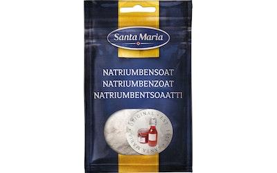 Santa Maria natriumbentsoaatti 30g
