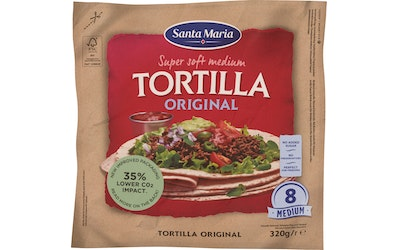 Santa Maria Tex Mex Tortilla 320g Medium
