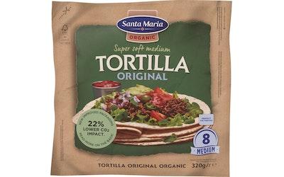 Santa Maria Luomu Tortilla 320g Wheat