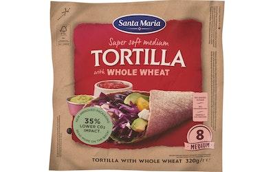 Santa Maria Tex Mex Tortilla 320g Whole Wheat