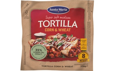 Santa Maria Tex Mex Tortilla 336g Corn