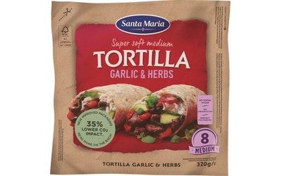 Santa Maria Tex Mex Tortilla 320g Herbs-Garlic