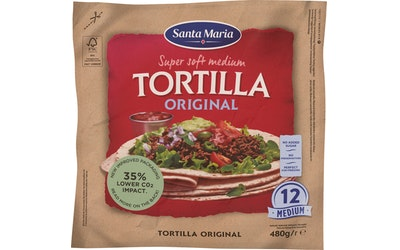 Santa Maria Tex Mex Tortilla 480g Medium