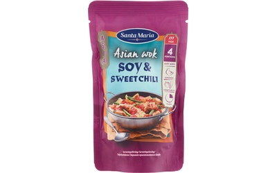 SM Asian Wok 150g Soy-Sweet Chili Hot