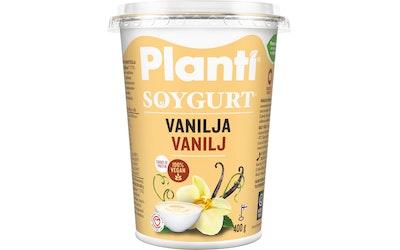 Planti soygurt 400g vanilja