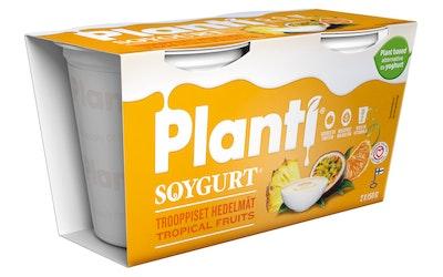 Planti soygurt 2x150g trooppiset hedelmät