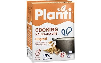 Planti creamy cooking kasvirasvasekoite 2dl original