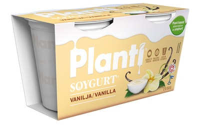 Planti soygurt 2x150g vanilja