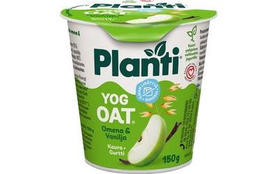 Planti YogOat 150g omena-vanilja