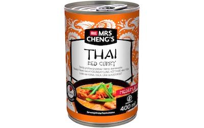 Mrs Chengs ateriakastike 400ml Thai Red