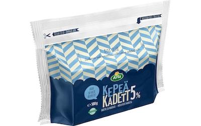 Arla Kepeä Kadett juusto 5% 500g