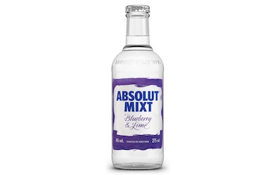 Absolut Mixt Blueberry-Lime 4% 0,275l