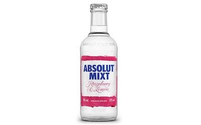Absolut Mixt Rasberry-Lemon 4% 0,275l