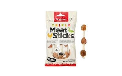 Dogman Triple meat sticks purutikku kana-ankka-maksa S 100g