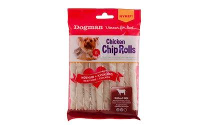 Dogman chicken chip roll kana 10 kpl S 12,5cm