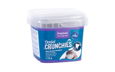 Dogman dental crunchies hampaita hoitava 75g kissa