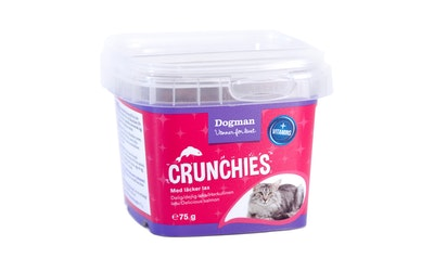 Dogman crunchies herkullinen lohi 75g kissan herkku