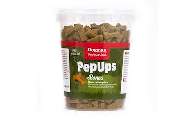 Dogman Pep Ups bones pehmeät koiranherkut 300g