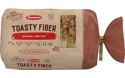 Semper Toasty Rouheinen 400g gluteeniton leipä
