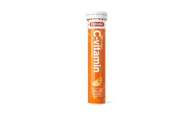 Friggs C-vitamiini poretabletti 20kpl 80g appelsiini