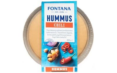 Fontana chili hummus 200g