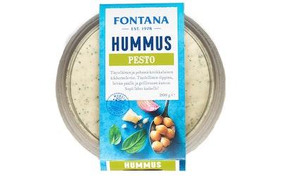 Fontana pesto hummus 200g
