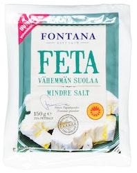 Fontana Feta 150g -50% vähemmän suolaa