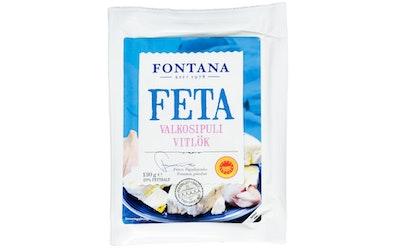 Fontana Feta Valkosipuli 130g